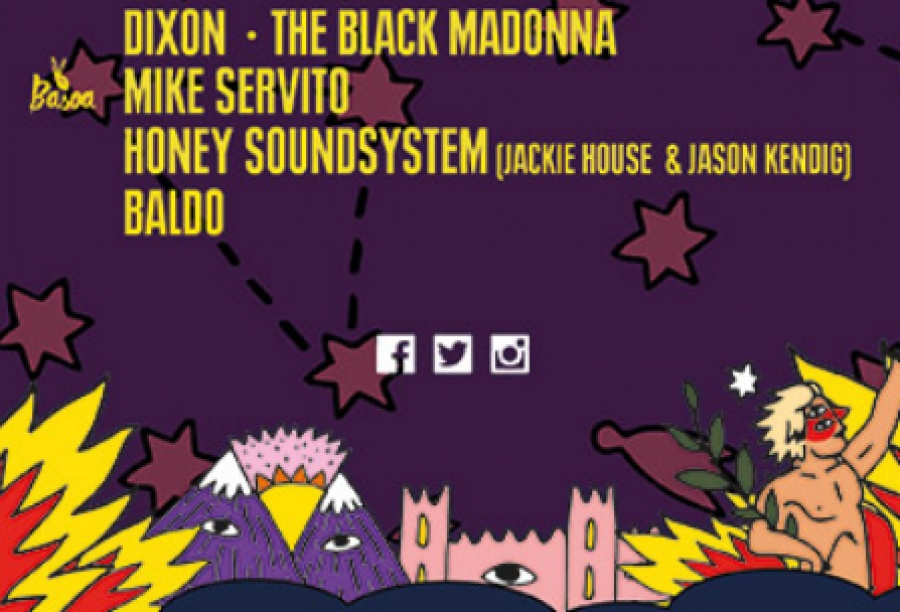 Baldo to play alongside The Black Madonna & Dixon at the BBK Live Festival on July 6th