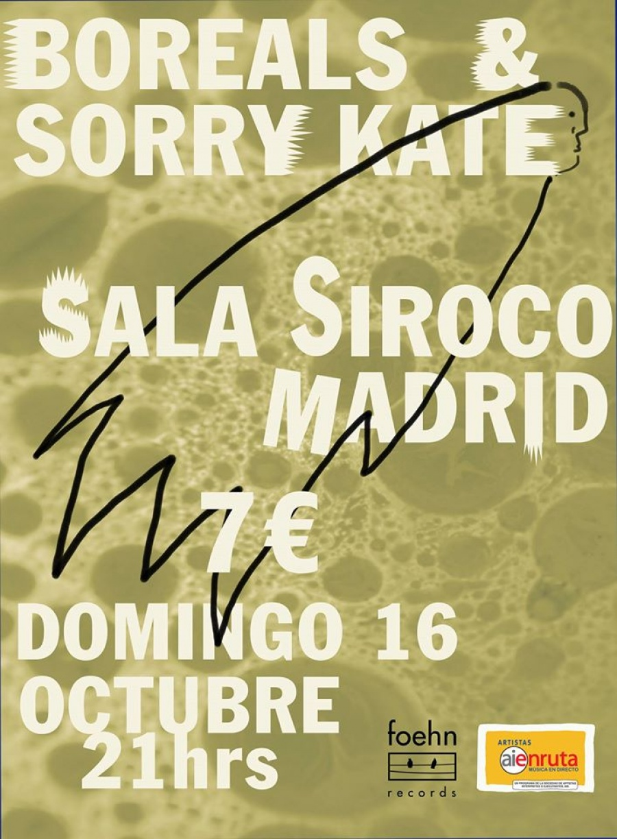 Boreals hit Madrid with Sorry Kate Sala Siroco